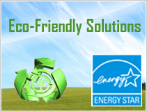 Eco-Friendly Solutions Icon